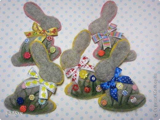 Таких маленьких кроликов я приготовила в подарок деткам на Пасху. фото 21