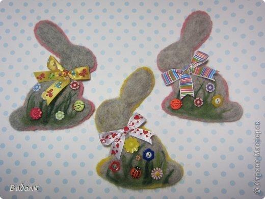 Таких маленьких кроликов я приготовила в подарок деткам на Пасху. фото 22