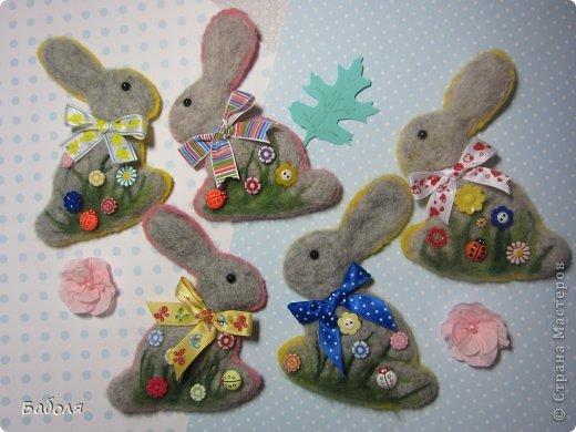 Таких маленьких кроликов я приготовила в подарок деткам на Пасху. фото 23