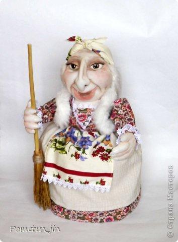 Баба Яга - грелка на чайник. фото 2