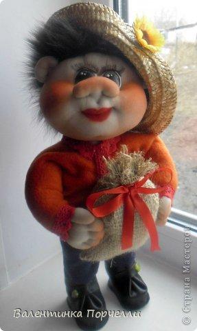 Всем привет!!!Закончила ещё пару кукол-грелок.Как я их в шутку называю-Кукла-заначка)))) фото 12