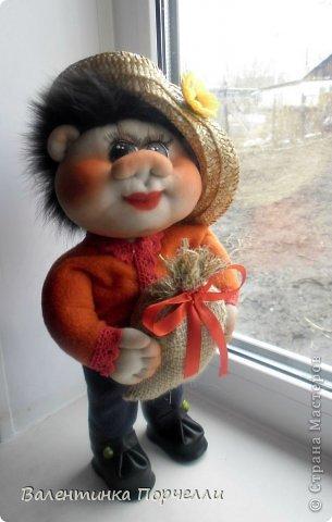 Всем привет!!!Закончила ещё пару кукол-грелок.Как я их в шутку называю-Кукла-заначка)))) фото 13