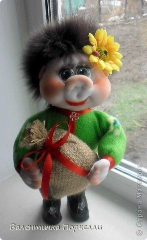 Всем привет!!!Закончила ещё пару кукол-грелок.Как я их в шутку называю-Кукла-заначка)))) фото 14