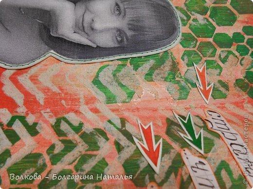 """Люблю эксперименты. На этот раз решила поучаствовать в совместном проекте Дарьи Пневой """"Арт-журнал круглый год"""" на портале Скрап-Инфо http://scrap-info.ru/newbb_plus/viewtopic.php?topic_id=3001. фото 4"""