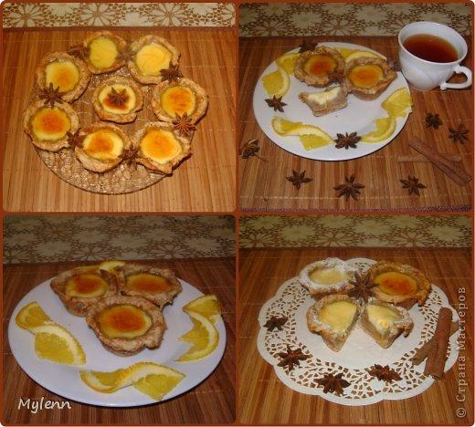 Простое в приготовлении и очень вкусное пирожное с ароматными нотками апельсина,сливочным кремом и цитрусовой карамелью. С приготовление справится даже начинающий кулинар:) фото 1