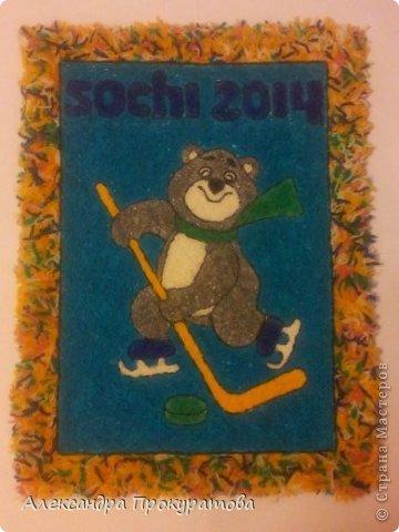Страна мастеров поделки к олимпиаде