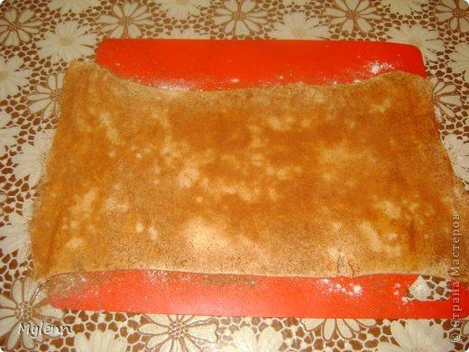 Простое в приготовлении и очень вкусное пирожное с ароматными нотками апельсина,сливочным кремом и цитрусовой карамелью. С приготовление справится даже начинающий кулинар:) фото 5