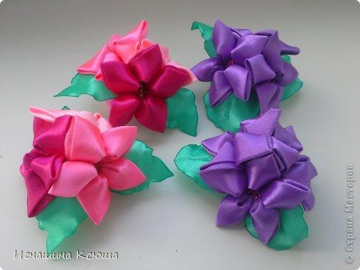 очень понравились такие цветочки, теперь они у меня везде.  это резинки  d-6см фото 1