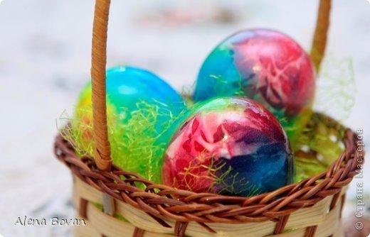 Мастер-класс Пасха  еще один способ красить яйца  Продукты пищевые фото 1