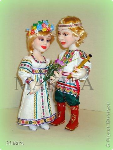 СНЕГУРОЧКА И ЛЕЛЬ    куклы от MAKIRY