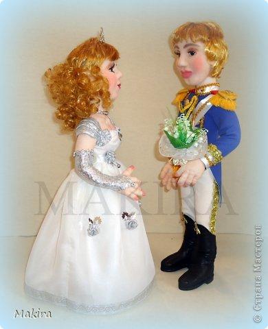 ЗОЛУШКА И ПРИНЦ    куклы от MAKIRY
