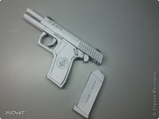 Пистолет NSP Бумага фото 1