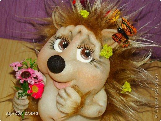 Куклы Шитьё Ёжик Капрон фото 1
