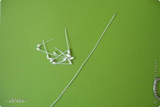 Мастер-класс Поделка изделие Моделирование конструирование Декоративные веточки+МК Бумага гофрированная Клей Краска Нитки фото 8