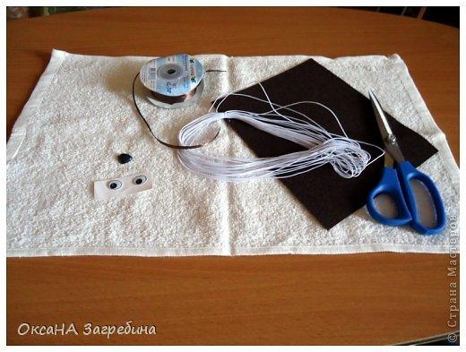 Декор предметов Мастер-класс Моделирование конструирование Щенок из полотенца - МК Ленты Ткань Фетр фото 2