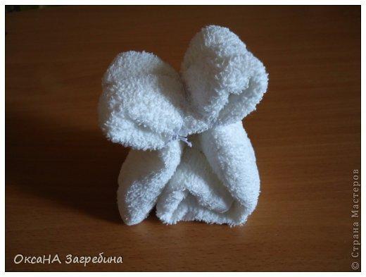 Декор предметов Мастер-класс Моделирование конструирование Щенок из полотенца - МК Ленты Ткань Фетр фото 7
