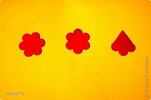 """Придумалась упаковочная коробочка-треугольник """"Курочка"""" для пасхального яйца. фото 7"""