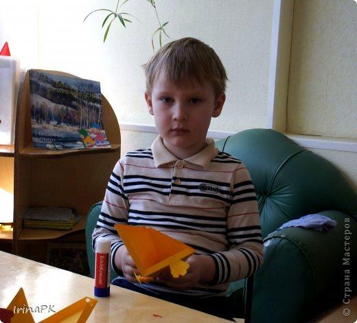 """Придумалась упаковочная коробочка-треугольник """"Курочка"""" для пасхального яйца. фото 10"""