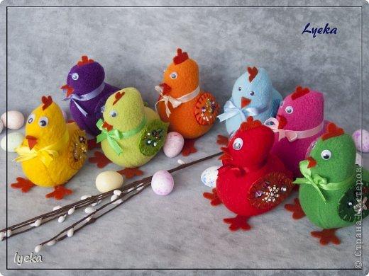 Здравствуйте, дорогие мастерицы! В преддверии Пасхи хочу поделиться мастер-классом по пошиву разноцветных, веселых, пасхальных цыпляток.  фото 2