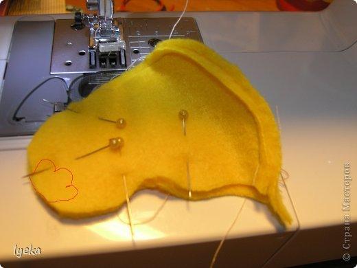 Здравствуйте, дорогие мастерицы! В преддверии Пасхи хочу поделиться мастер-классом по пошиву разноцветных, веселых, пасхальных цыпляток.  фото 8