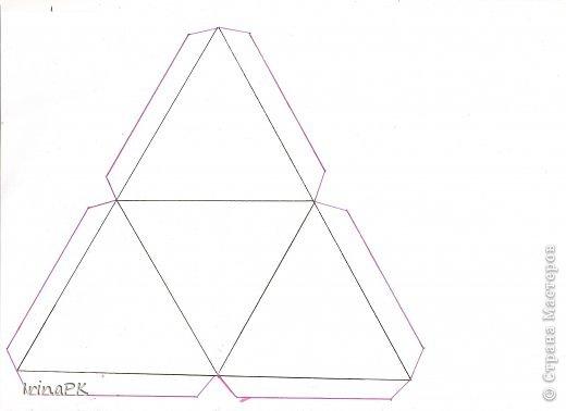 """Придумалась упаковочная коробочка-треугольник """"Курочка"""" для пасхального яйца. фото 8"""