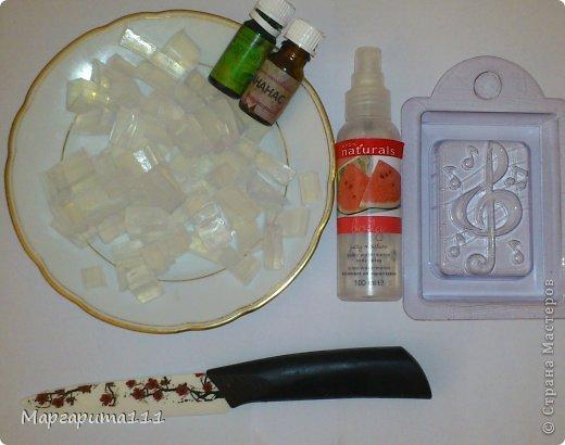 Мыло скрипичный ключ фото 2