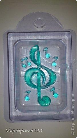 Мыло скрипичный ключ фото 5