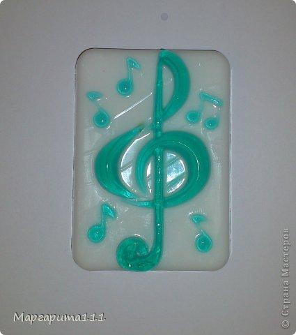 Мыло скрипичный ключ фото 1