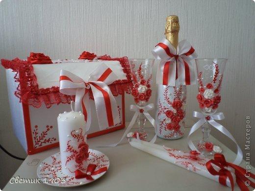 Свадебной набор для очаровательной парочки.  фото 1