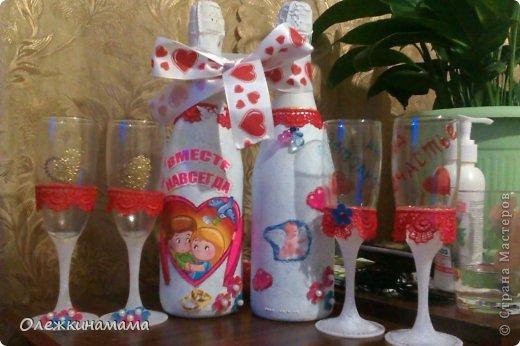 Бутылочки на свадьбу подружке )))