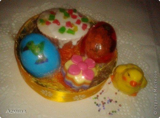 Всем доброе время суток и поздравления с наступающим праздником!!! Немного помыловарила для подарочков. Вот такие пестрые, весенние яйца получились. фото 5