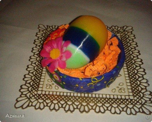 Всем доброе время суток и поздравления с наступающим праздником!!! Немного помыловарила для подарочков. Вот такие пестрые, весенние яйца получились. фото 6