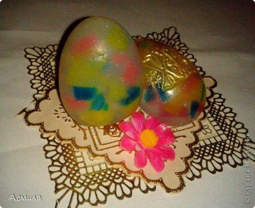 Всем доброе время суток и поздравления с наступающим праздником!!! Немного помыловарила для подарочков. Вот такие пестрые, весенние яйца получились. фото 1