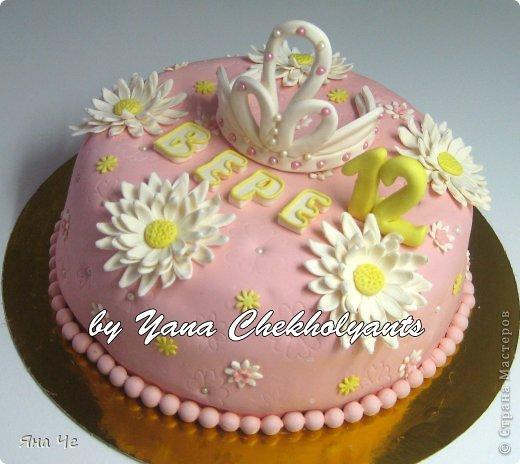 Тортик для девочки...