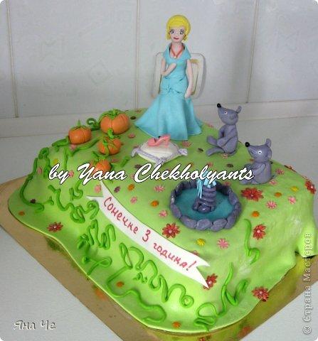 Тортик для девочки... фото 6