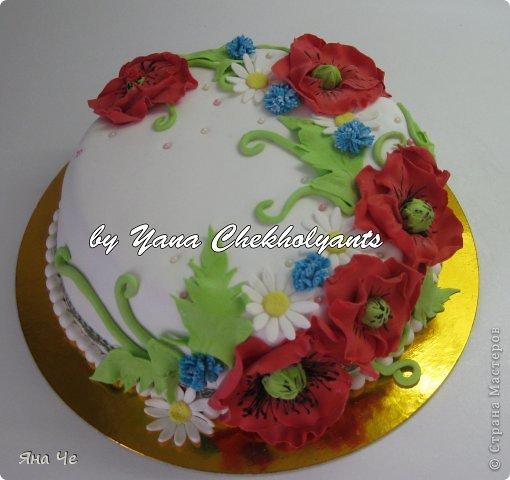 Тортик для девочки... фото 13