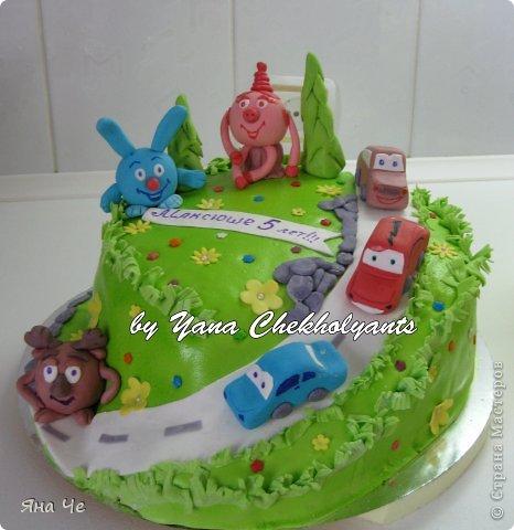 Тортик для девочки... фото 10