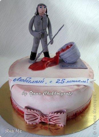 Тортик для девочки... фото 12