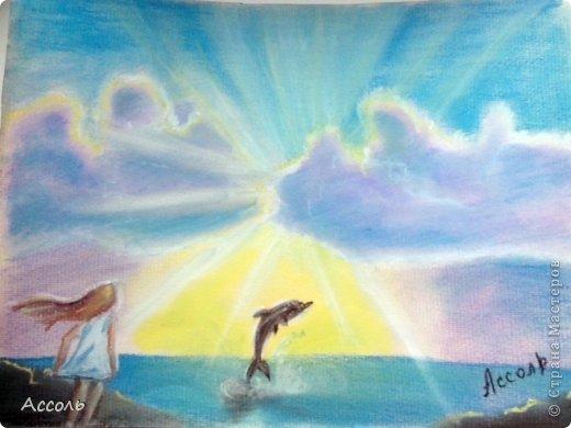 Привет, Страна! Вчера был очередной замечательный онлайн-урок Дарьи Краевой по рисованию пастелью облаков https://www.youtube.com/watch?v=YhNLIssySQg . Вот, что получилось у меня в результате)))