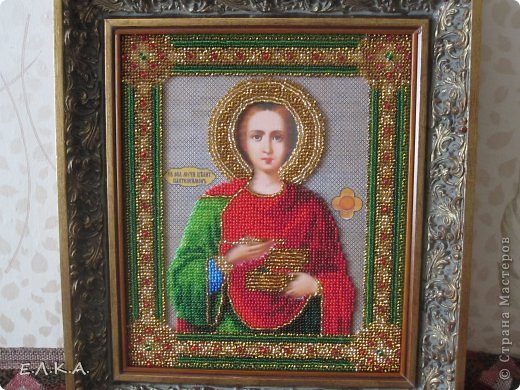 Св.Пантелеймон (бисер)