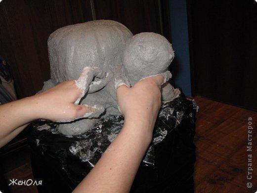 Черепашка из гипса своими руками мастер класс