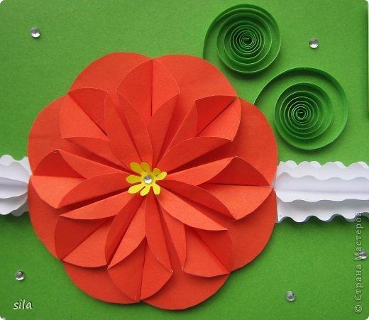 Объёмные цветы оригами своими руками 55