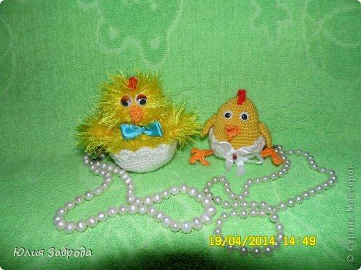 Пасхальные цыпленки