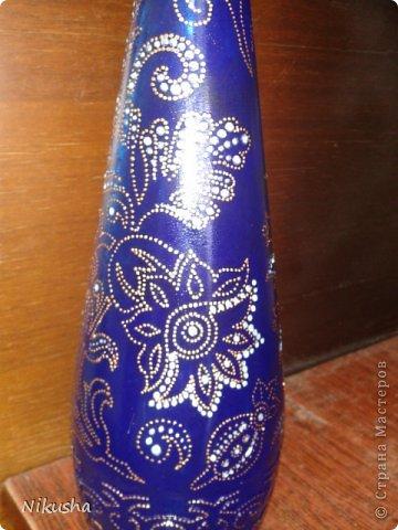 Росписные бутылочки, шкатулочки, органайзер. фото 9