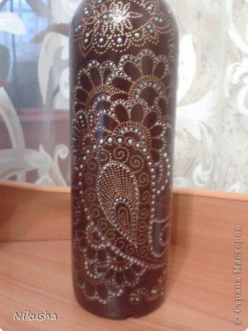 Росписные бутылочки, шкатулочки, органайзер. фото 11