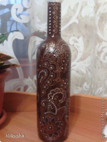 Росписные бутылочки, шкатулочки, органайзер. фото 10