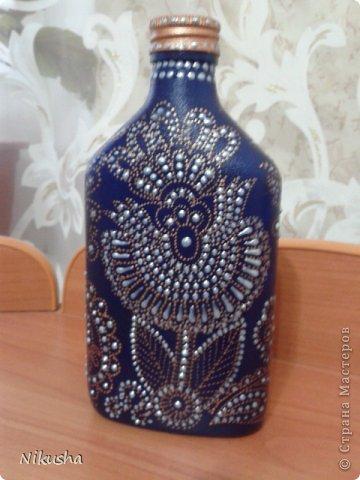 Росписные бутылочки, шкатулочки, органайзер. фото 12