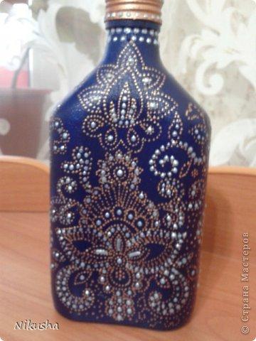 Росписные бутылочки, шкатулочки, органайзер. фото 13