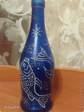 Росписные бутылочки, шкатулочки, органайзер. фото 14