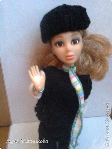 Привет СМ!Мы продолжаем участвовать в конкурсах.Мы начинаем! Лена/Микки 10/16 М: Привет.Всем же хочется гулять,да? Ну вот мне сделали костюмчик!Он состоит из:шапки,шарфика,жилетки,кофты и штанов. фото 1